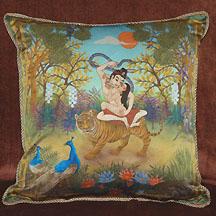 Mandalas On Pillows Of Silk